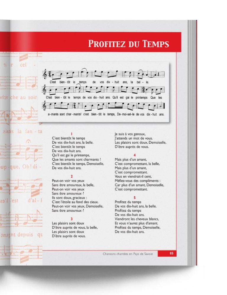 """Chansons chantées en Pays de Savoie - """"Profitez du Temps"""" chanson savoyarde"""