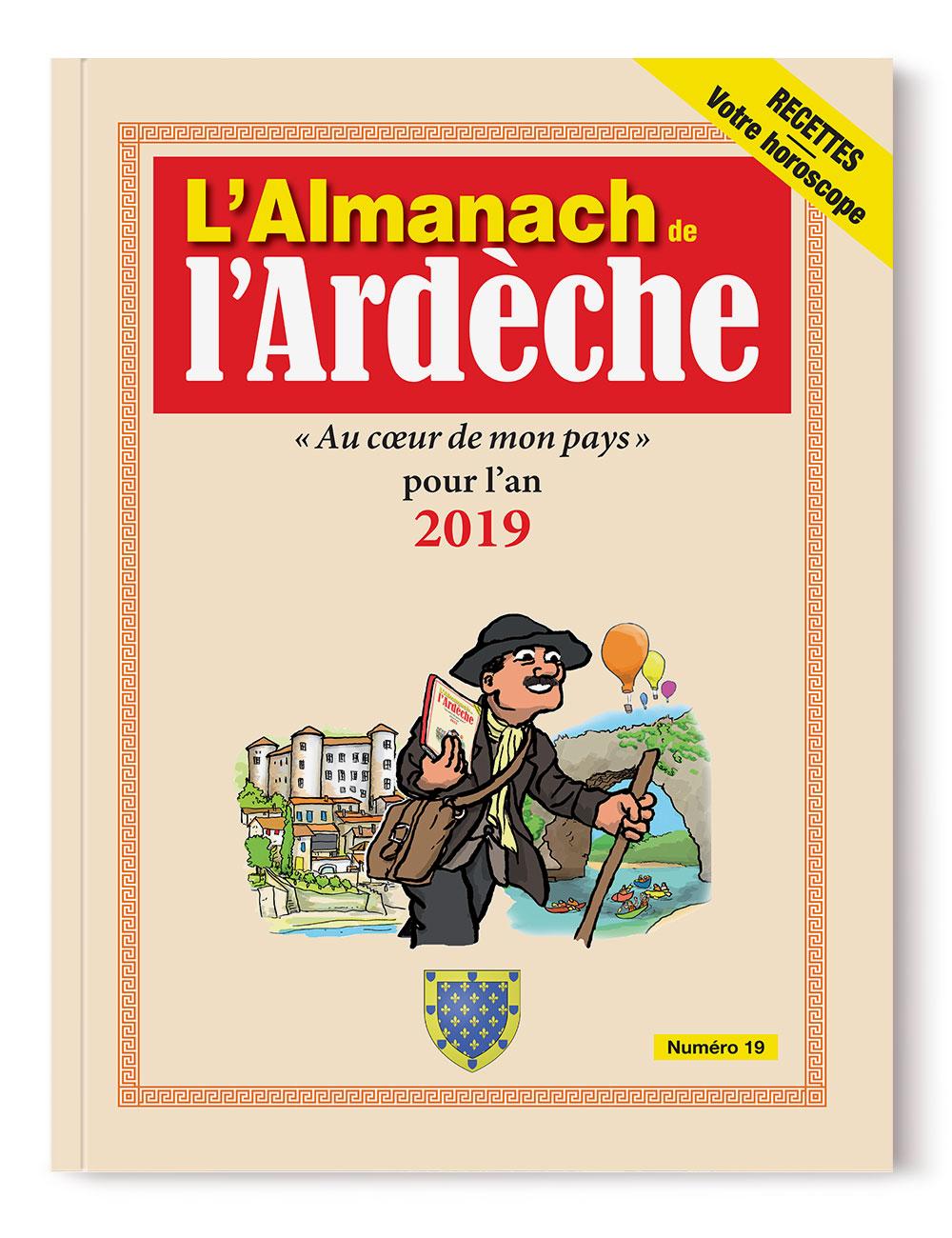 Almanach de l'Ardèche 2019 - numéro 19