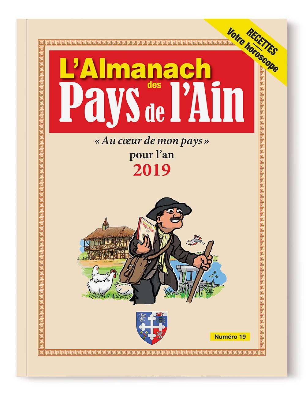 Almanach des Pays de l'Ain 2019 - numéro 19