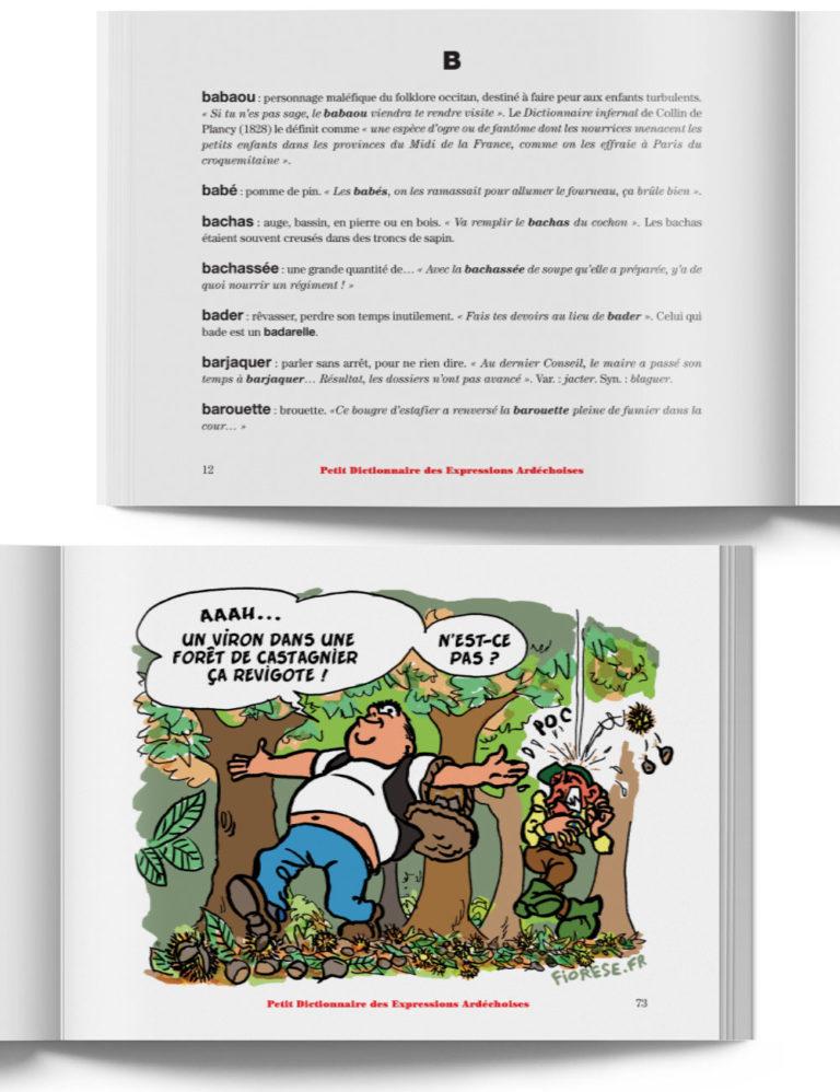 Petit Dictionnaire des Expressions Ardéchoises – Livre expression de l'Ardèche