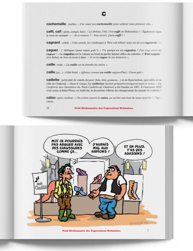 Petit Dictionnaire des Expressions Drômoises – Livre expression de la Drôme