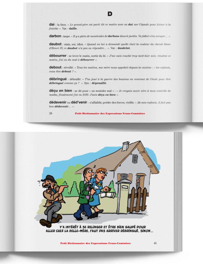 Petit Dictionnaire des Expressions Franc-Comtoises – Livre expression de Franche-Comté