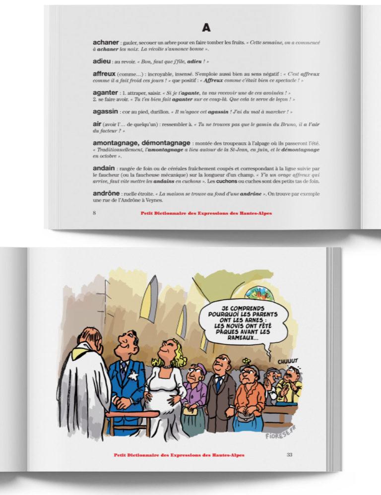 Petit Dictionnaire des Expressions des Hautes-Alpes – Livre expression du Sud