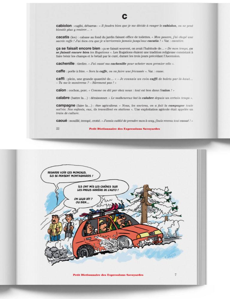 Petit Dictionnaire des Expressions Savoyardes – Livre expression des Pays de Savoie