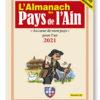 couverture de l'Almanach des Pays de l'Ain 2021