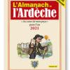 couverture de l'Almanach de l'Ardèche 2021