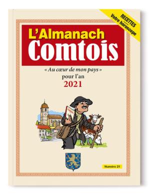 couverture de l'almanach comtois 2021