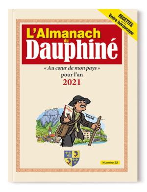 Couverture de l'Almanach du Dauphiné 2021