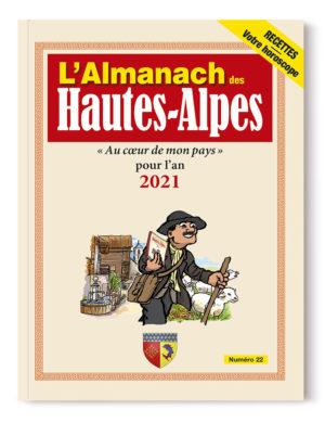 Couverture de l'Almanach des Hautes-Alpes 2021