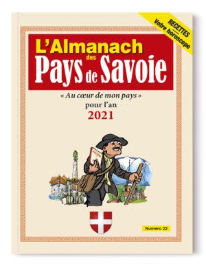 Couverture de l'Almanach des Pays de Savoie 2021