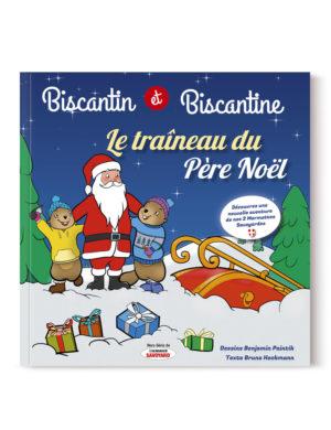 couverture Biscantin et Biscantine Le Traîneau du Père Noël